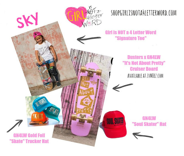 324ab577867 GET SKY S SKATER GIRL LOOK  Trucker Hats  our new