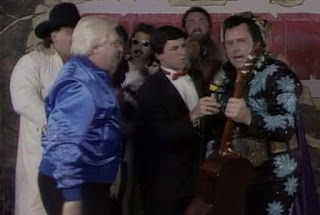 WWF SURVIVOR SERIES 1987 -  TEAM HONKY TONK MAN