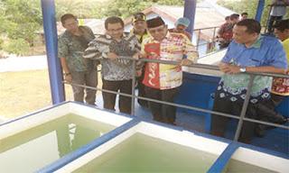 Pengolahan Air IKK Cantung Tambah Kapasitas Hingga 30 Liter/Detik