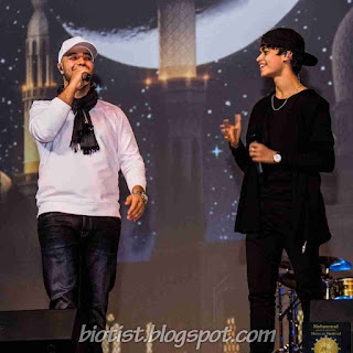 Harris J Photos with Maher Zain