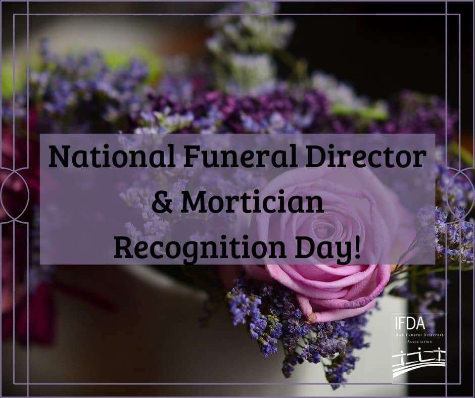 National Funeral Director and Mortician Recognition Day Wishes
