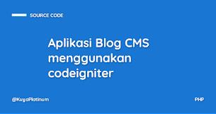 Aplikasi Blog CMS menggunakan codeigniter - Responsive Blogger Template