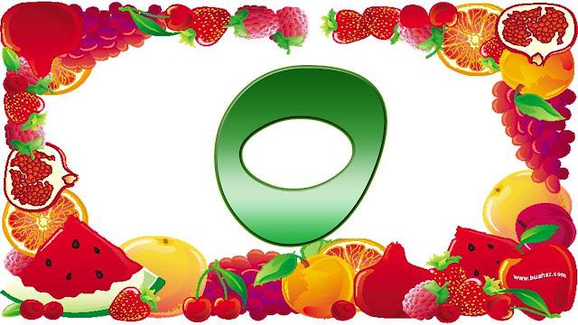 Definisi istilah buah dari huruf o