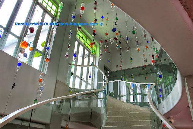 Staircase, New Majestic Hotel, Bukit Pasoh St, Singapore