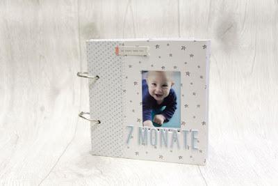 Baby Album erstes Jahr DIY