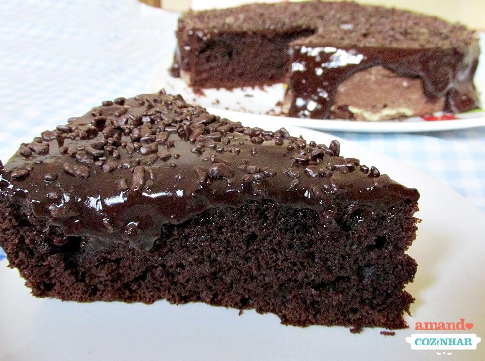 Nega Maluca Bolo De Chocolate Fofinho E Molhado Amando Cozinhar