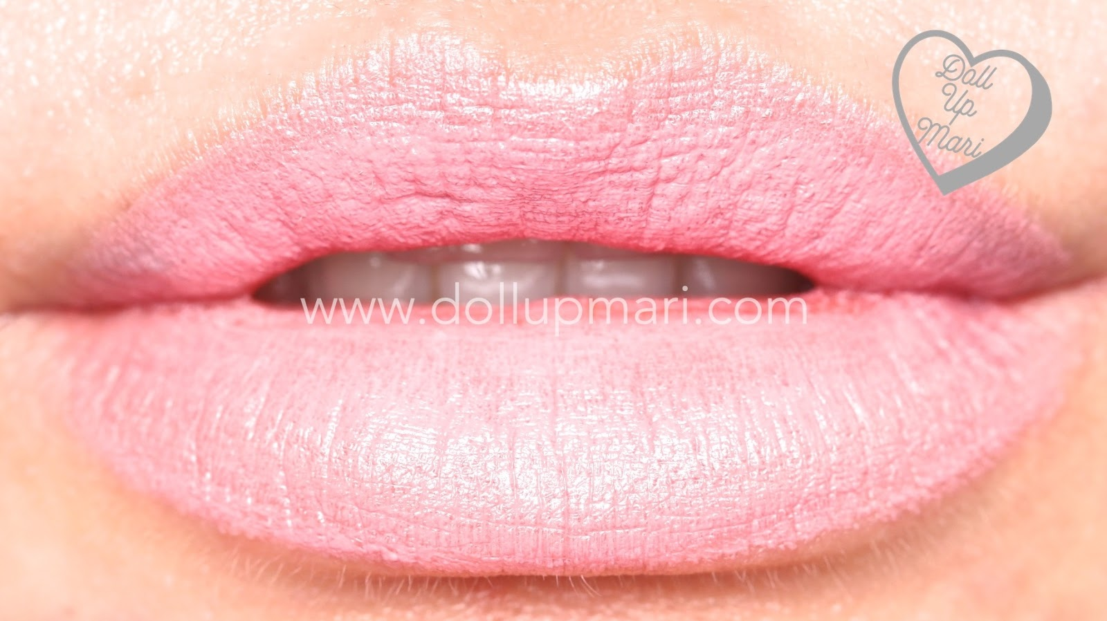 lip swatch of Pink Passion shade of AVON Perfectly Matte Lipstick