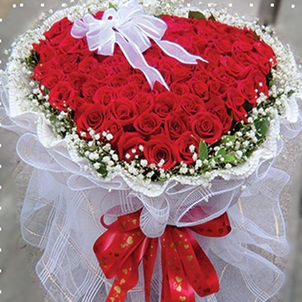 Những bó hoa hồng đẹp dành tặng sinh nhật bạn gái 4
