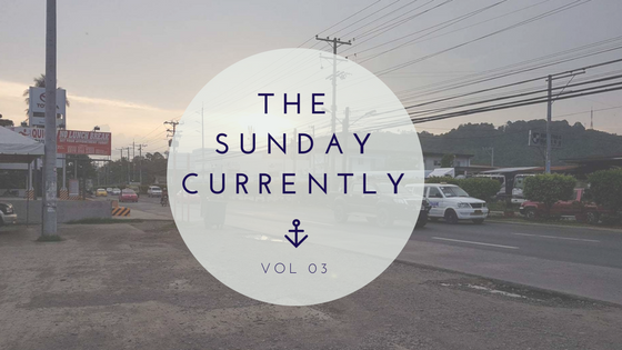 THE SUNDAY CURRENTLY | VOL 03