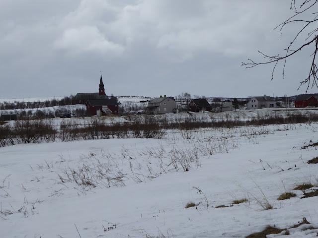Laponie norvégienne : chez les samis Kautokeino au printemps : le départ des rennes a eu lieu