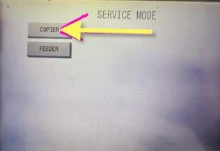 Cara atur ukuran kertas mesin fotocopy canon IR dilengkapi gambar