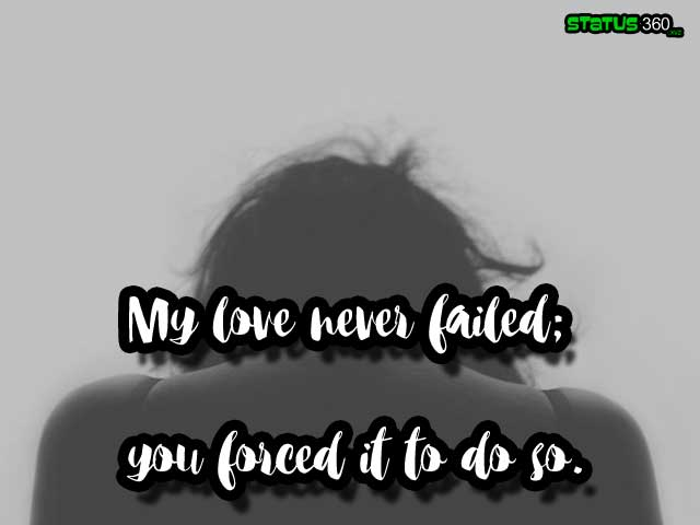 Latest Sad Love Shayari 2020, Love Failure Shayari English