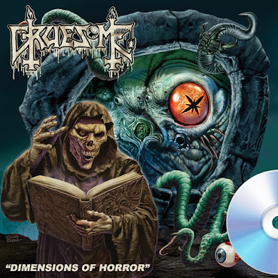 Gruesome - Dimensions Of Horror - ep cover - 2016
