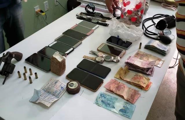 Operação da polícia resulta em prisão e apreensão de armas e drogas em Campo Maior