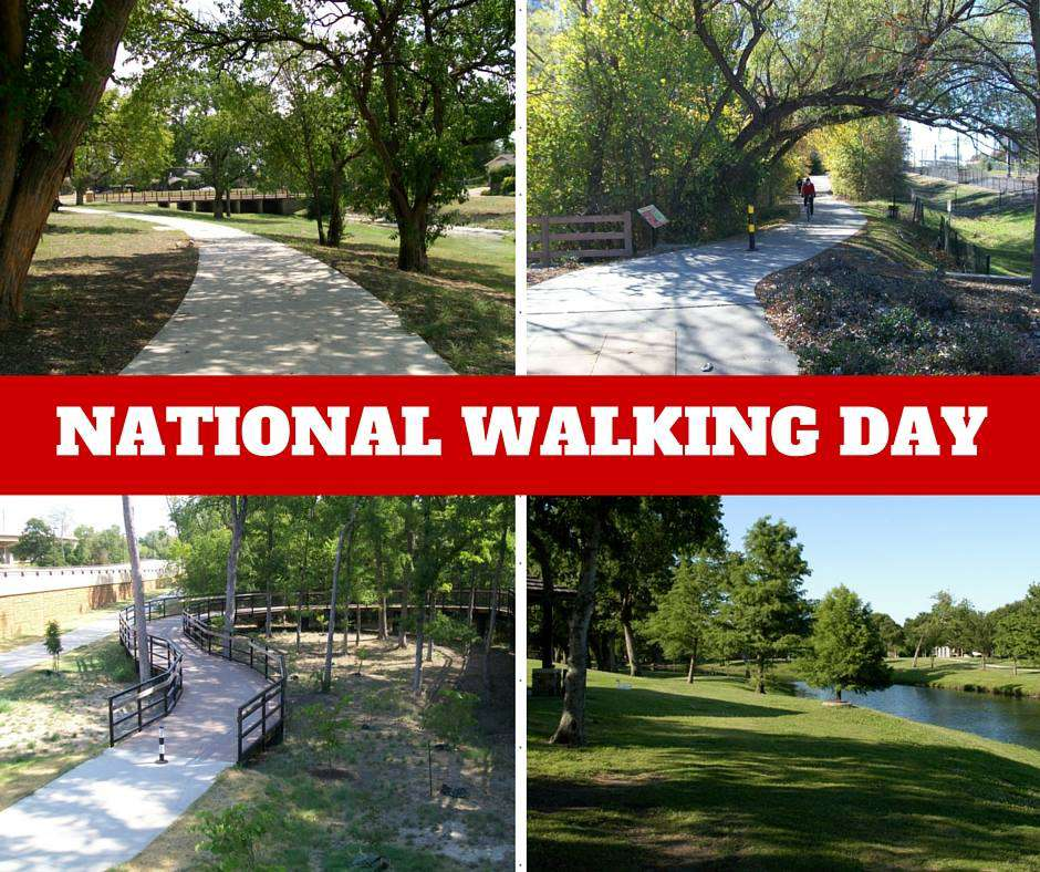 National Walking Day Wishes Pics