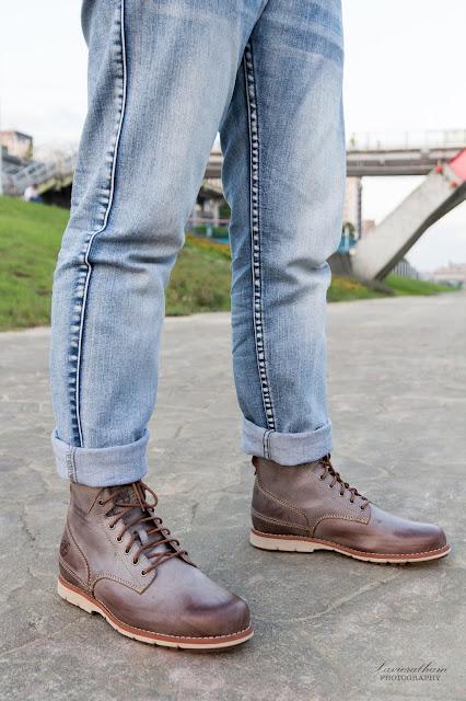 「敗家之路」Timberland 深褐色復古摔紋高筒靴 - 16