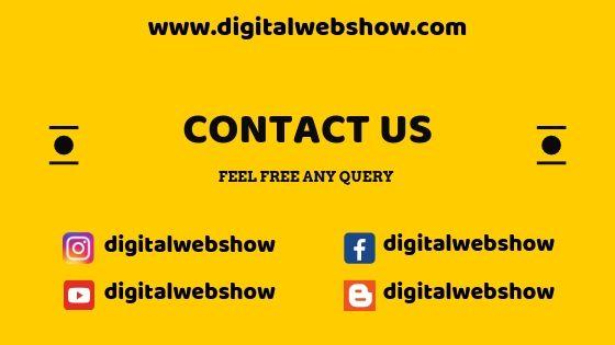 Digital Web Show Contact Us