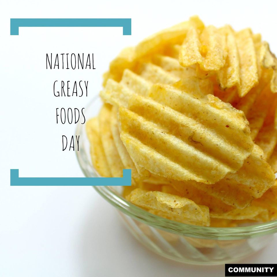 National Greasy Foods Day Wishes Photos