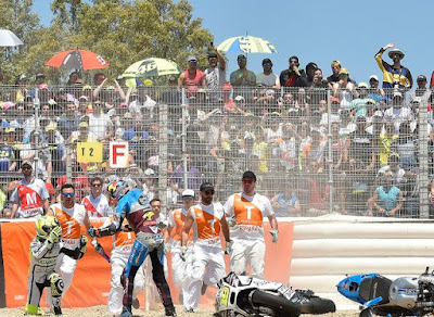 Berlaku Kasar, Miller di Denda 1.000 Euro dalam MotoGP Jerez