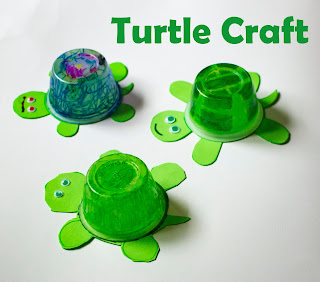 Recycled Turtle Craft