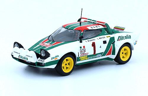 collezione rally monte carlo Lancia Stratos HF 1977  S. Munari - S. Maiga
