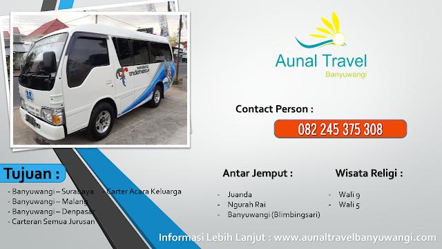 Travel Denpasar Banyuwangi Nyaman Terjangkau