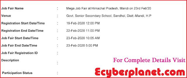Mandi Job Fair