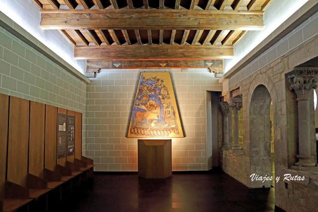 Sala capitular del claustro de la catedral de Jaca