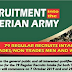 Nigerian Army 79RRI 2019/2020 Recruitment Form [Updated]