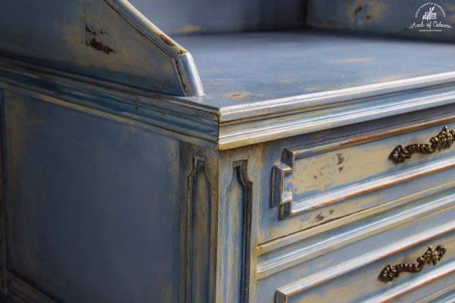 Arch of Colours: Χαρά Καραγιάννη 3 Annie Sloan Greece