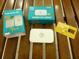 Paquete OPTUS YES de conexión Wifi en Australia