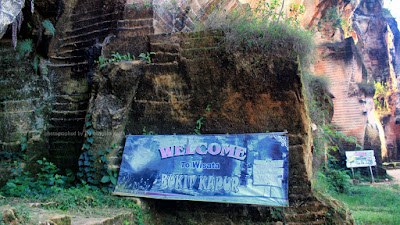 Wisata Bukit Kapur Arosbaya yang indah.
