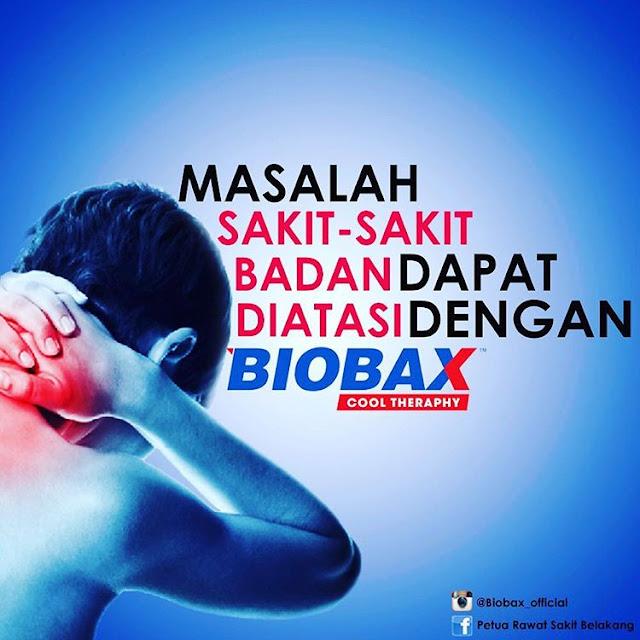 Biobax Cool Theraphy Spray Ajaib Merawat Sakit Belakang, Pinggang dan Lutut