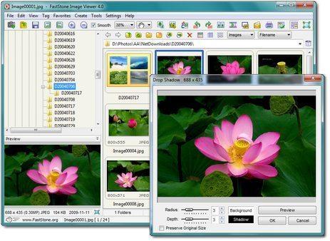 تحميل برنامج FastStone Image Viewer 7.5 نسخة كاملة