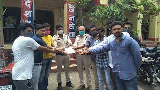नेमावर हत्याकांड के आरोपी को सज़ा दिलवाने के लिए यूथ कांग्रेस के कार्यकर्त्ता ने मुख्यमंत्री के नाम सौपा ज्ञापन