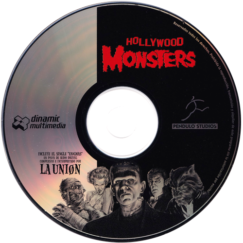 Hollywood Monsters CD