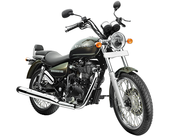 Royal Enfield Thunderbird 500 front look