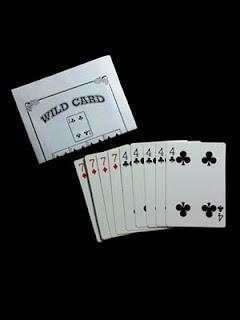 toko sulap jogja Wild Card Trick