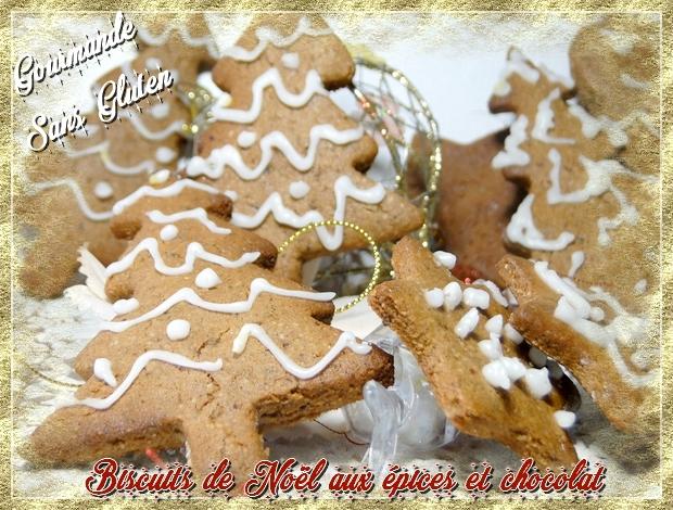 Biscuits de Noël au chocolat épicé