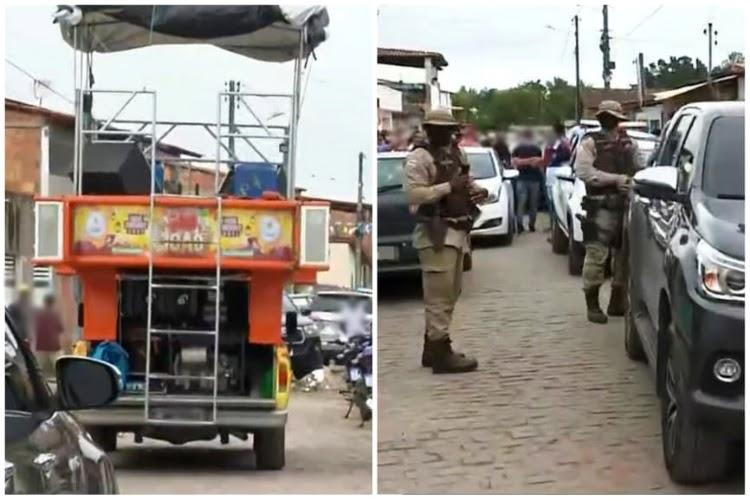 Prefeito de cidade baiana é detido por desacato após promover festa de São João com minitrio
