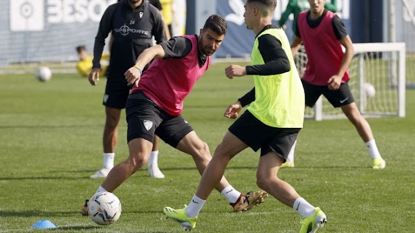 El Málaga no descansa y ya piensa en la nueva semana
