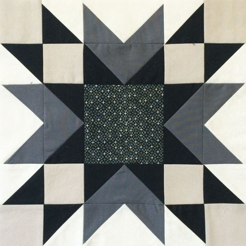 Double Star Block - Free Quilt Pattern