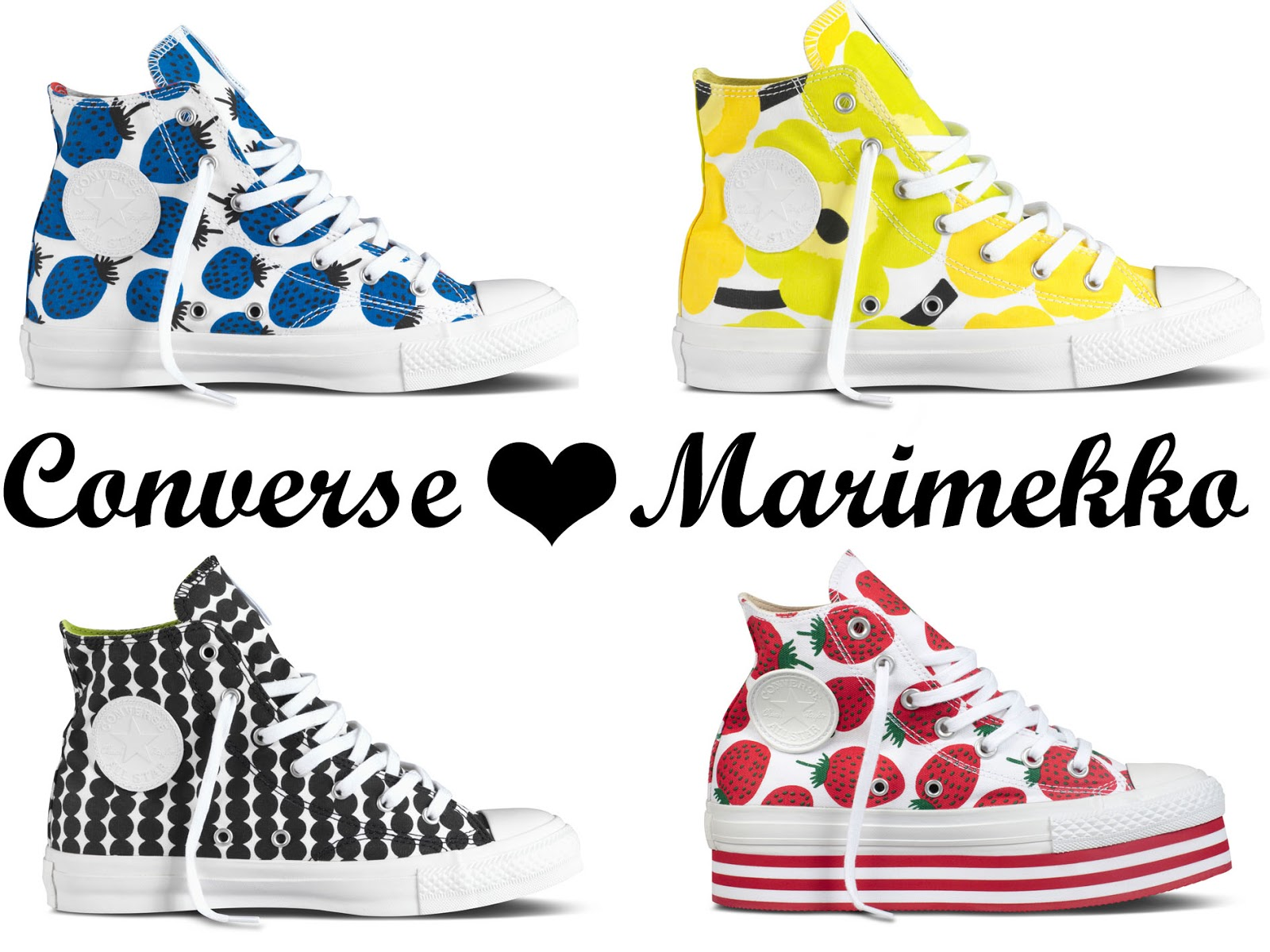 Converse teams up with Marimekko b6268509bf
