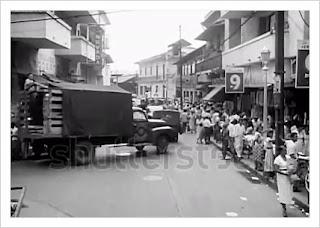 Ciudad de Panamá en 1950