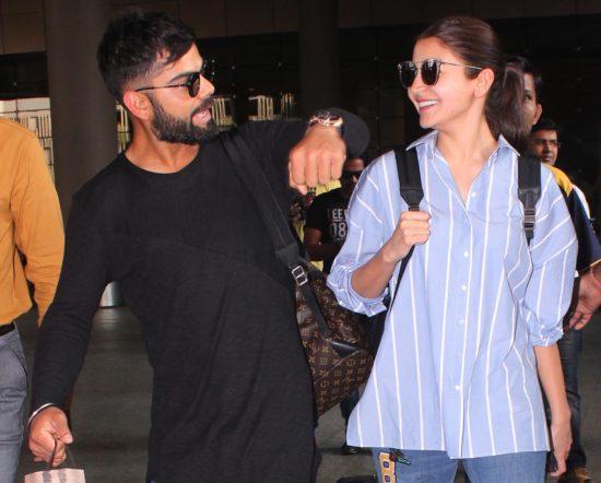 Anushka Sharma and Virat Kohli together