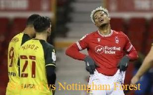 Watford vs Nottingham Forest