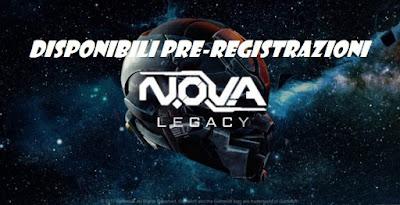 Pre-registrazioni disponibili N.O.V.A. Legacy gioco by Gameloft