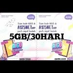 Voucer Axis 5GB/30HARI
