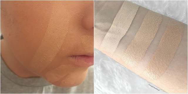 foundation stick swatches for pale skin