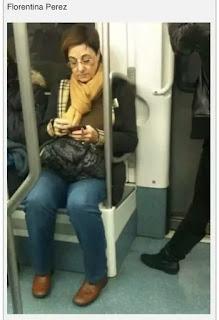 Mujer parecida a Florentino Pérez